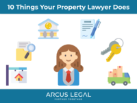 10 Things Your Property Lawyer Does for You When You Purchase a Home