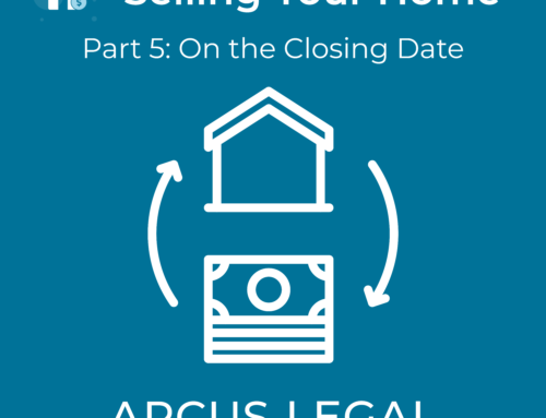 Selling Your Home – Part 5 – On the Closing Date