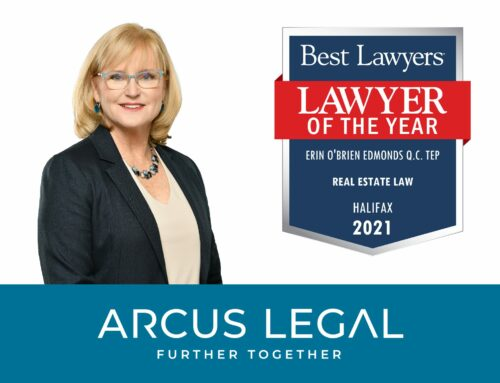 Erin O'Brien Edmonds recognized as Halifax Lawyer of the Year for Real Estate Law