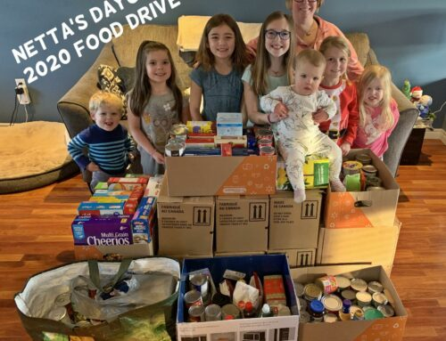 Netta's Daycare – Feed Nova Scotia Food Drive