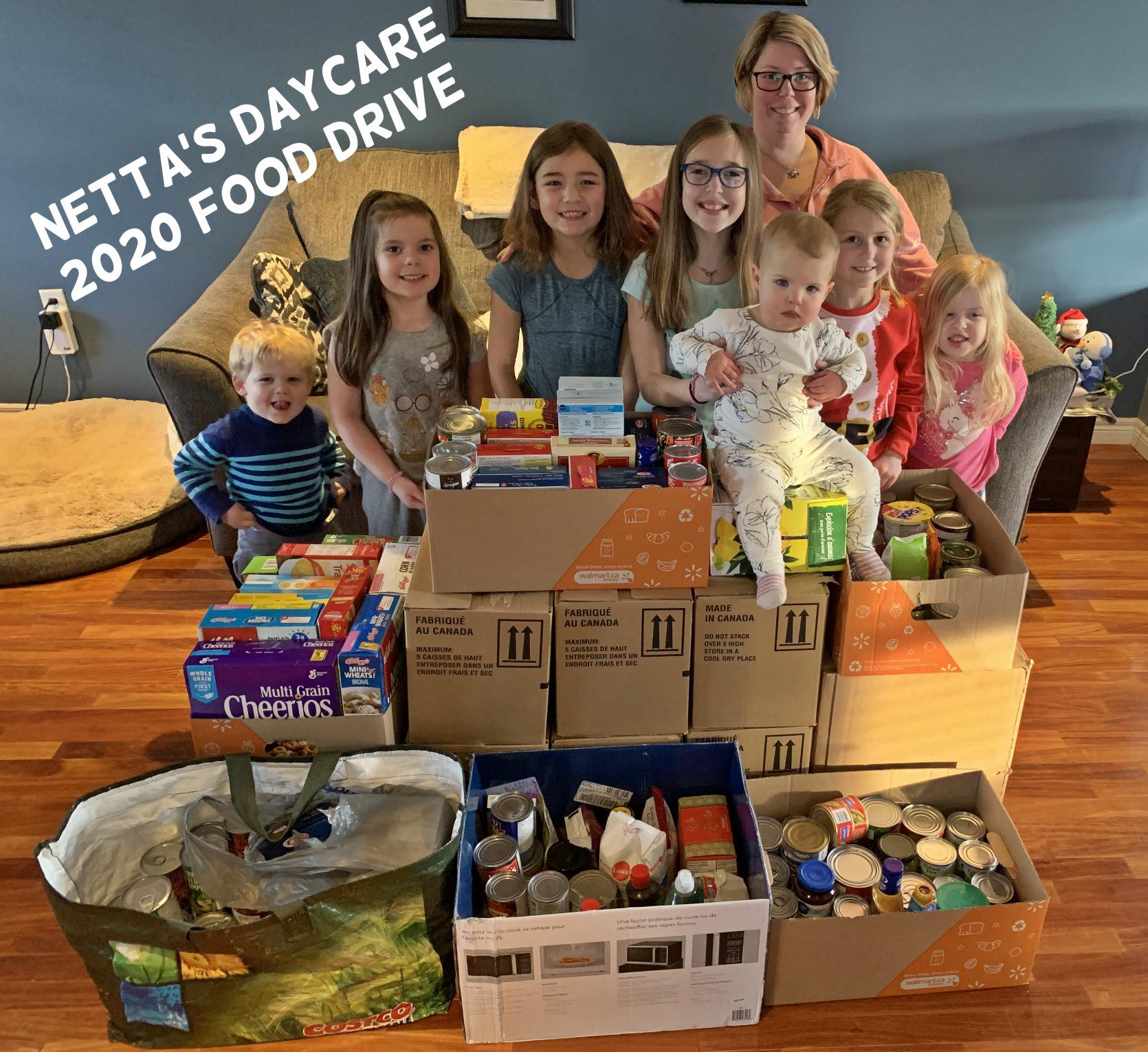Netta's Daycare - Food Drive