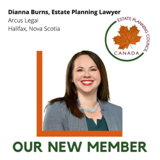 Dianna Burns joins Estate Planning Council Canada